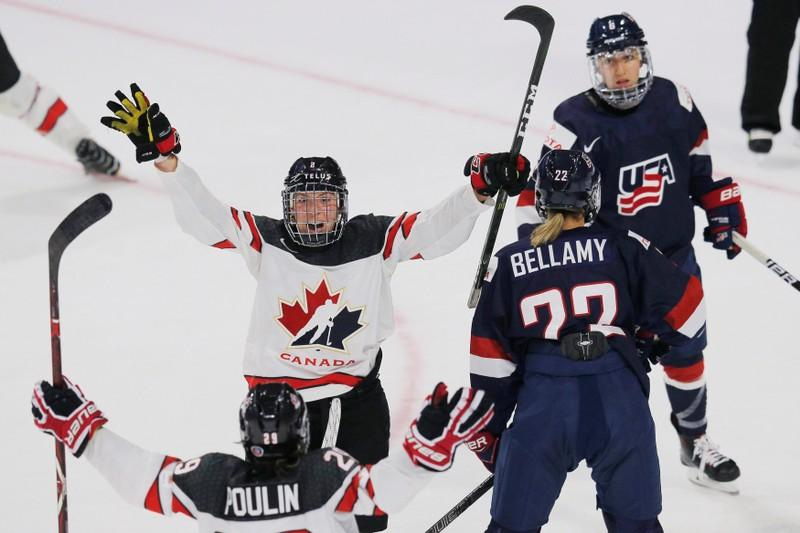 Ice Hockey: Canada down U.S. 5-1 in women's Olympic preview