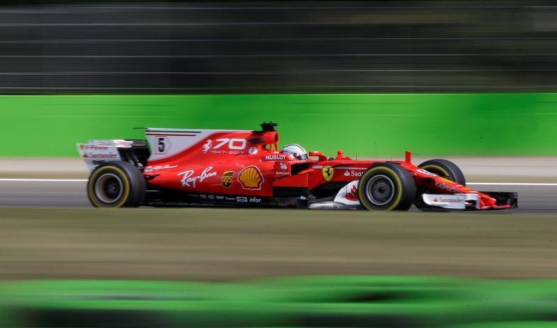 Motor racing: Vettel hails Arrivabene as a key man for Ferrari