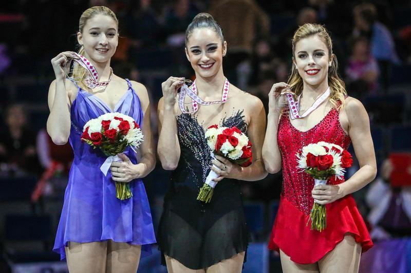 Figure skating: Osmond overcomes stumbles to take gold at Skate Canada