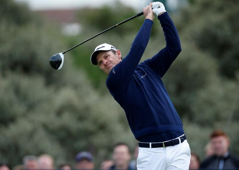 Golf: Rose wins in Shanghai as Johnson has record collapse