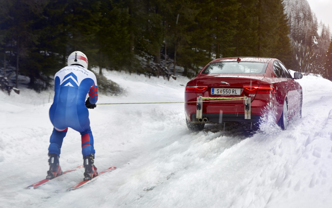 No slope needed: British skier sets record for speed towed by car