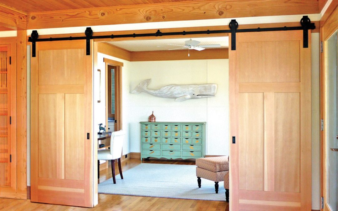 Raising the bar(n) in your home: Say hello to a barn door this winter