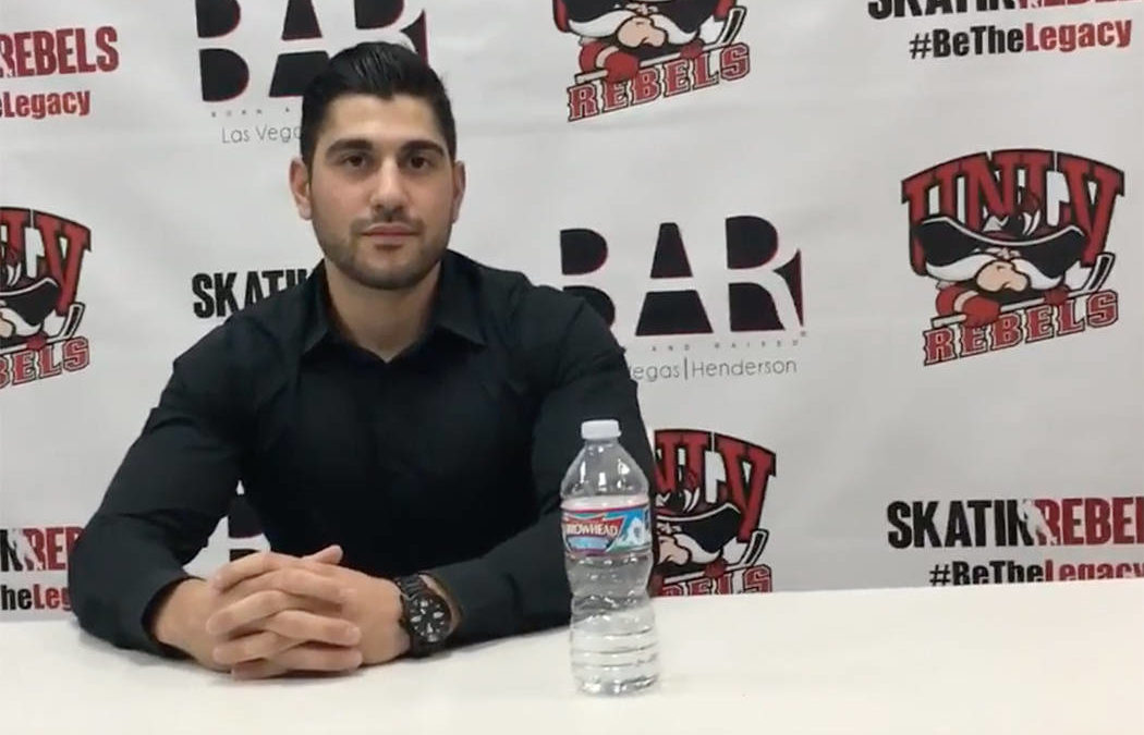 UNLV assistant hockey coach shot at concert, expected to recover from shooting