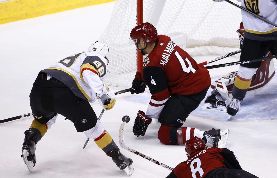 Early-season grit helps Vegas Golden Knights forge identity