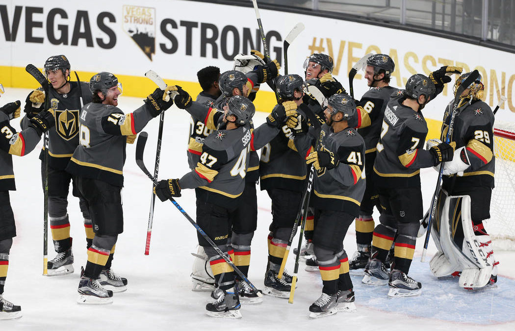 Golden Knights' opening night is a Las Vegas embrace