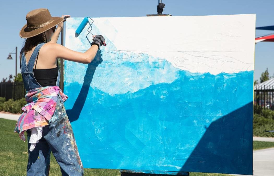 38 artists participate in Skye Canyon Chalk + Cheers event