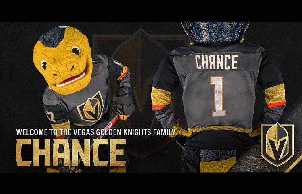 Vegas Golden Knights reveal Chance as team's mascot
