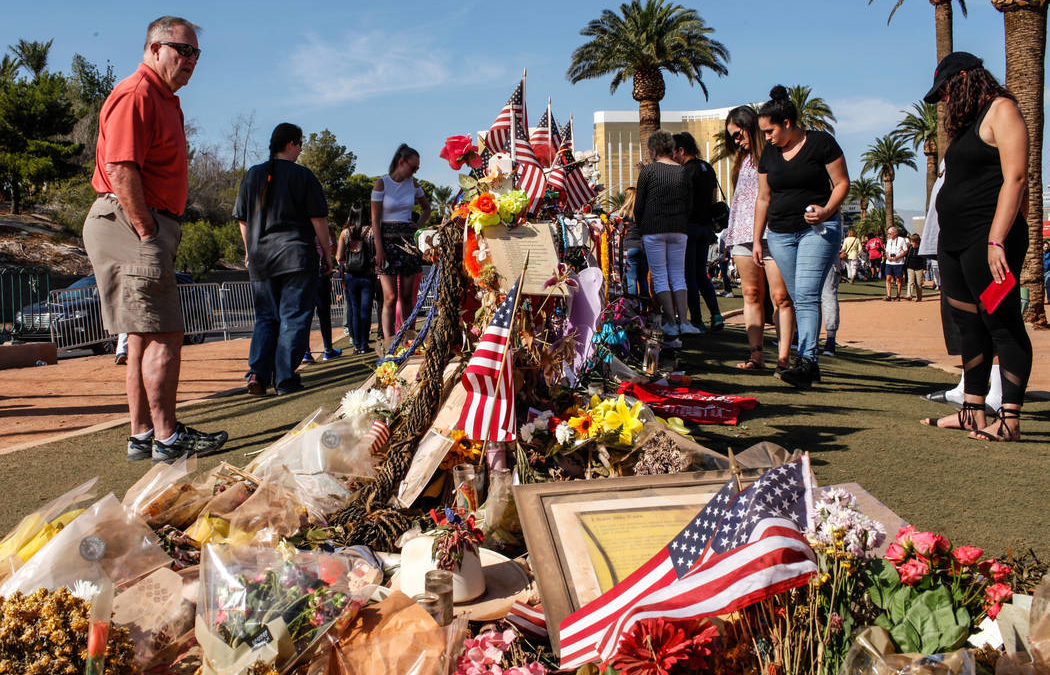 Museums work to preserve artifacts from Las Vegas shooting memorials