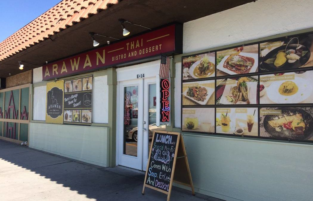 Former casino pastry chef part of Arawan Thai Bistro