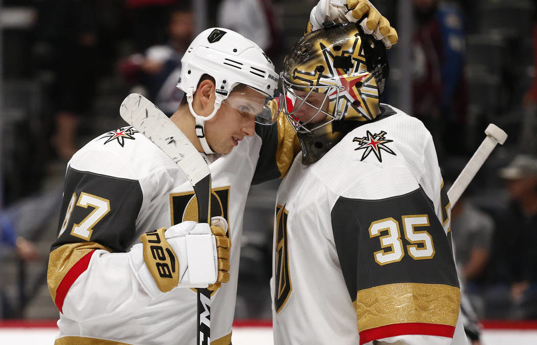 Dansk takes Knights' net as Subban could miss 4 weeks
