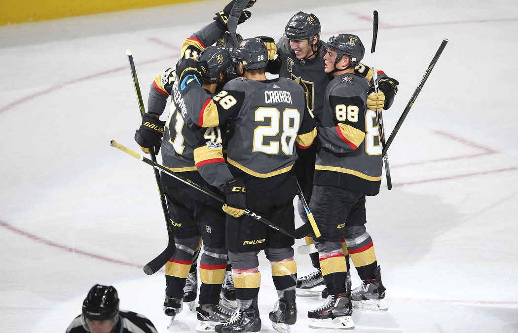 Golden Knights' historic start becomes feel-good story of NHL