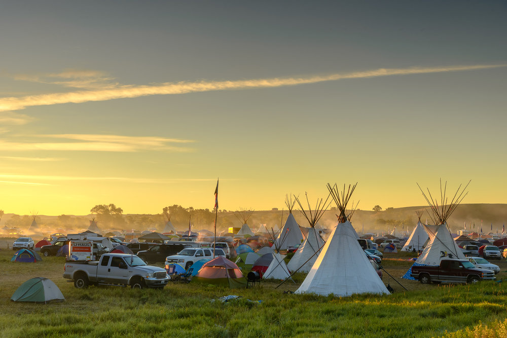 THE BATTLE OF TREATY CAMP: Law Enforcement Descended On Standing Rock A Year Ago And Changed the DAPL Fight Forever