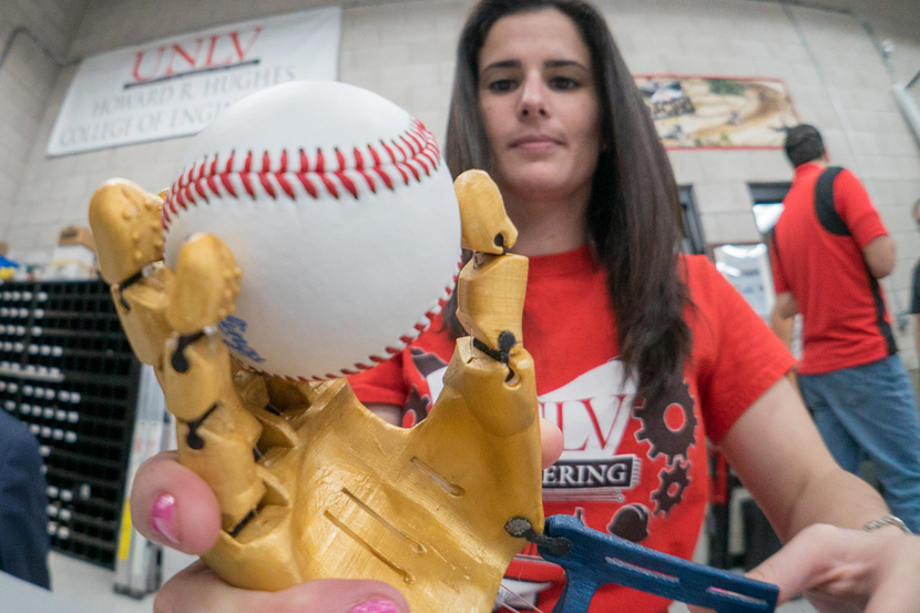 Handled: UNLV Student Builds Robohand for World Series
