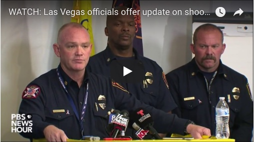 Las Vegas officials offer update on shooting aftermath