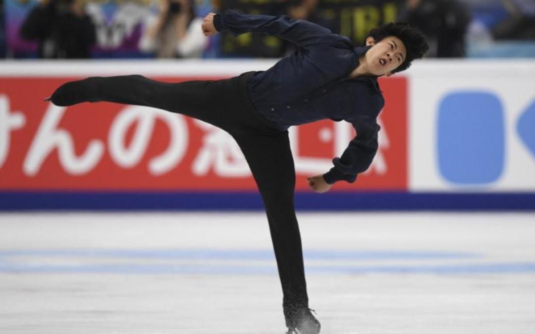 Chen wins grand prix opener, Hanyu second