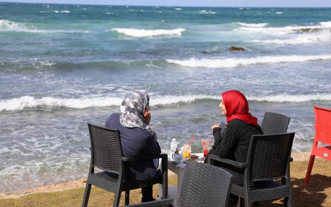 Women find some respite in Libya's 'families only' cafes