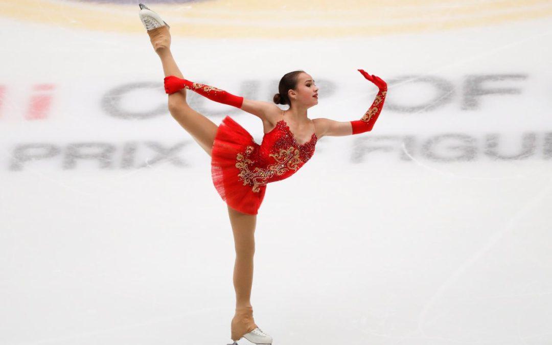 Zagitova wins debut grand prix event, Kolyada takes men's singles