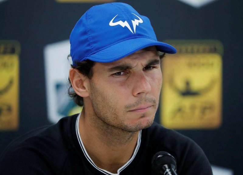 Nadal will be fit for London, says coach Moya