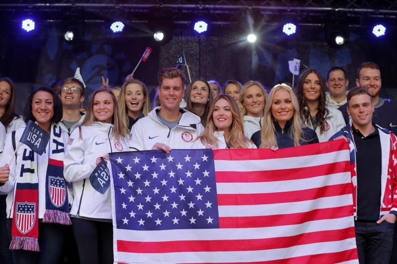 Team USA talks up Pyeongchang over threats, distractions