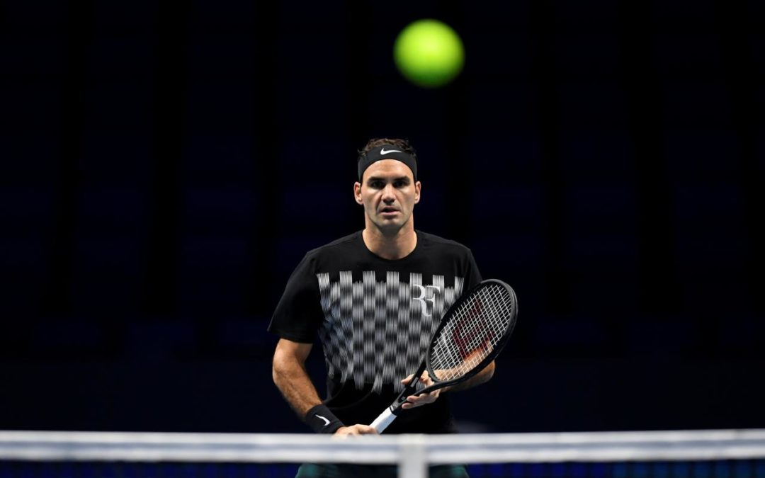 Federer leads unfamiliar cast as Nadal sweats over injury