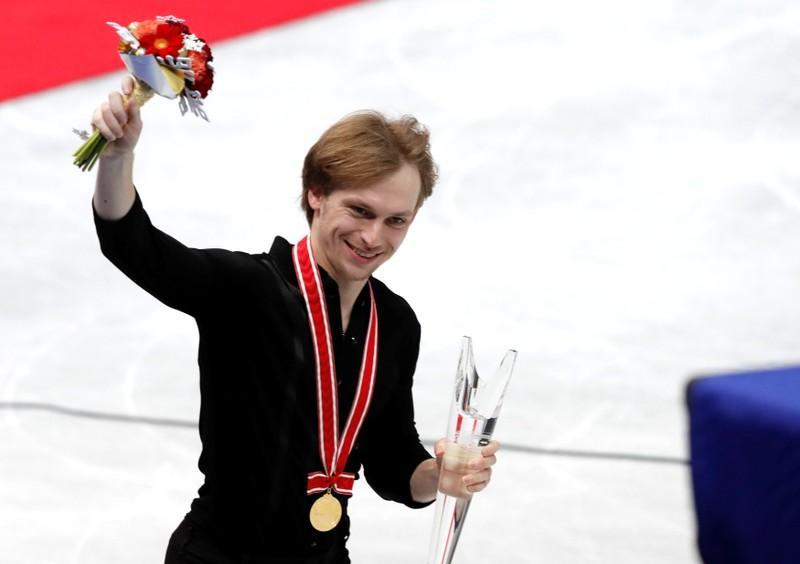 Figure skating: Russian Voronov takes top spot in Japan