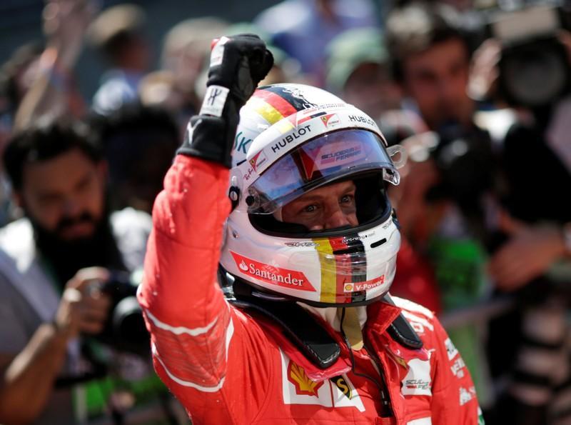 Vettel wins as Hamilton roars back to fourth in Brazilian Grand Prix