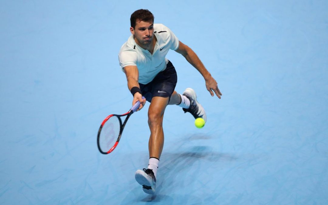 Goffin puts Nadal out of his misery, Dimitrov wins