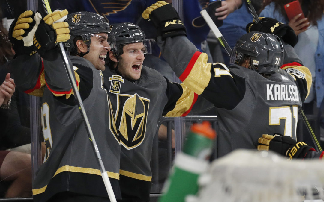 NHL Highlights: Golden Knights match wins record