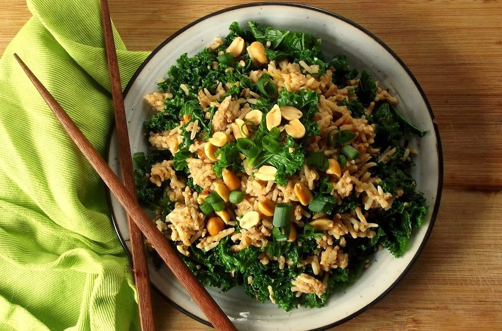How about a peanut butter and kale sandwich? Study shows that peanut butter enhances the vitamin A value of kale