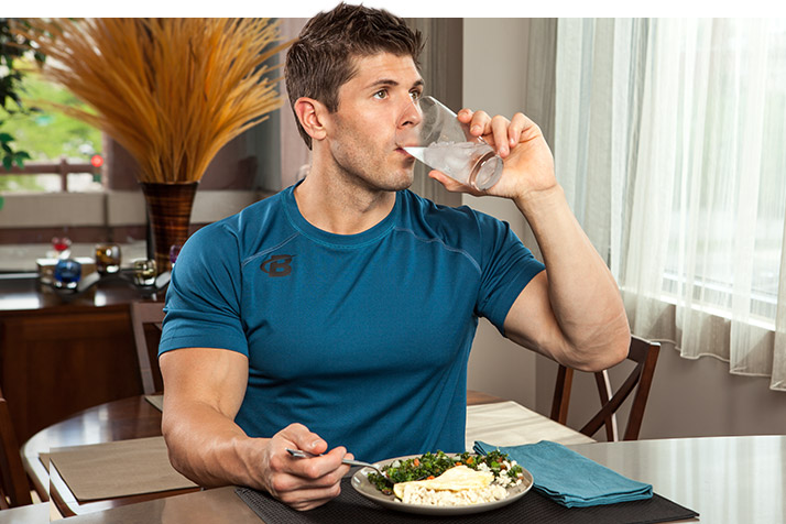 Start fighting obesity tomorrow with this simple, easy step: Drink only water with your meals