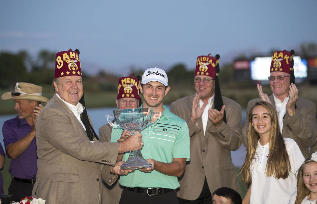 Patrick Cantlay wins Shriners Open on second playoff hole