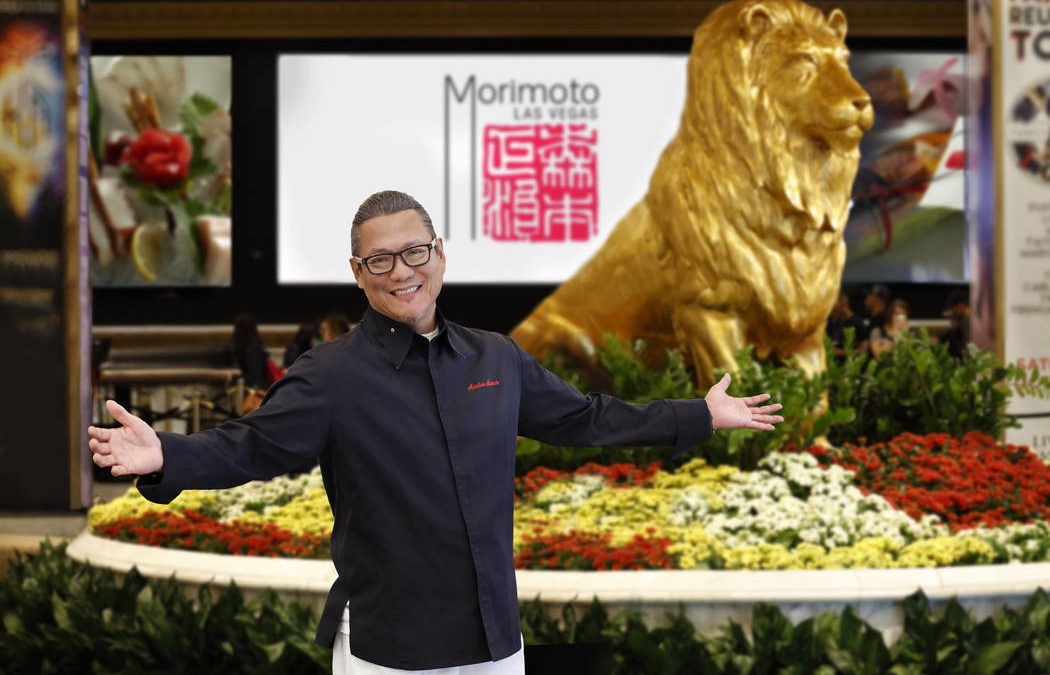 Iron Chef Morimoto marks first year at MGM Grand restaurant