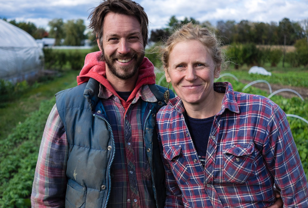 How this couple earns a six figure annual income with 1.5 acres of land