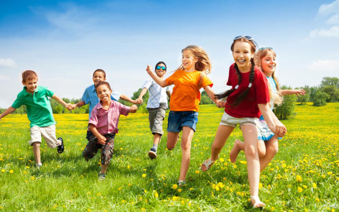 Virtual fun is boring: Letting kids take risks, get dirty is good for them