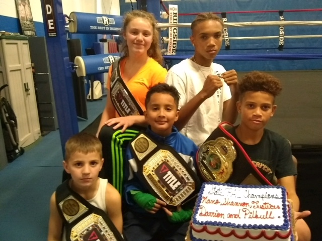 PSL Police Athletic League boxers take home 4 Belts during the PAL State Championship Tournament