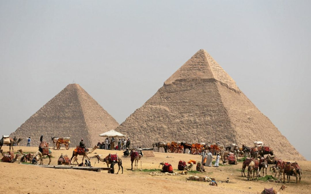 Cosmic-ray imaging finds hidden structure in Egypt's Great Pyramid