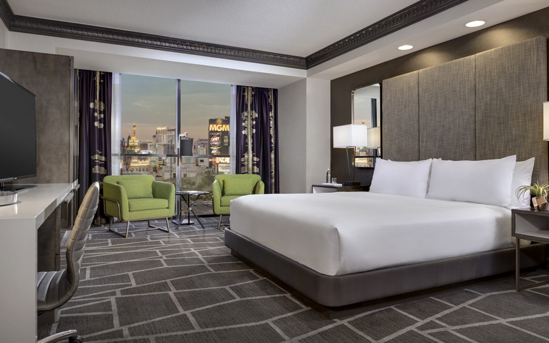 Luxor Enhances Guest Experience with Extensive Room Remodel Scheduled for Completion in Q1 2018