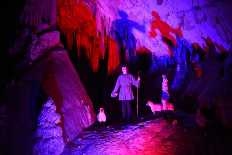 Behold the Christmas Story – in a Limestone Cave