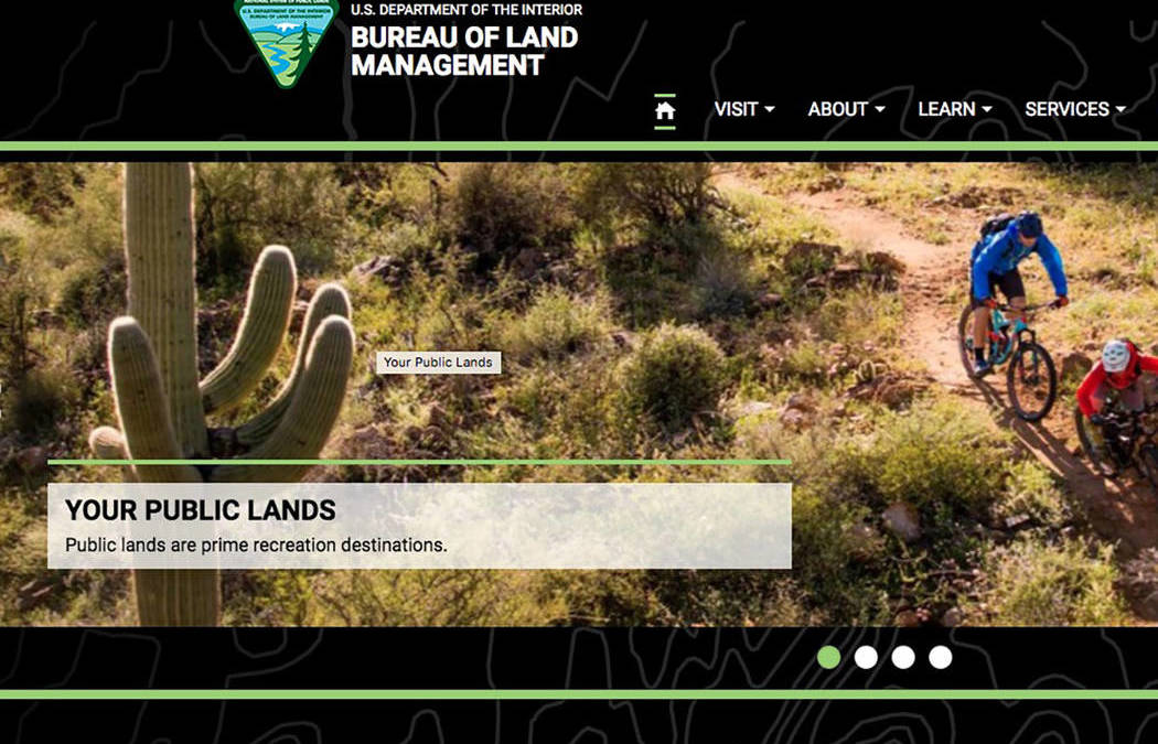 Input Spotty As Blm Works to Update Southern Nevada Blueprint