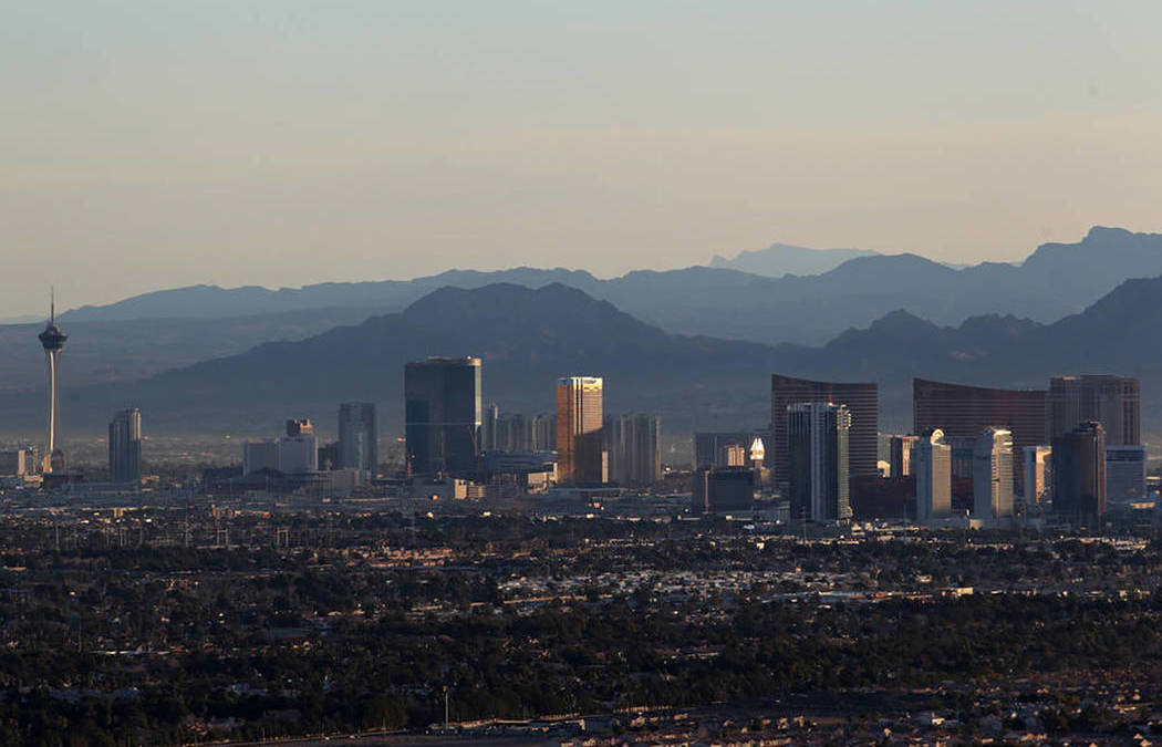 Las Vegas Valley Wraps Up Second-warmest January on Record