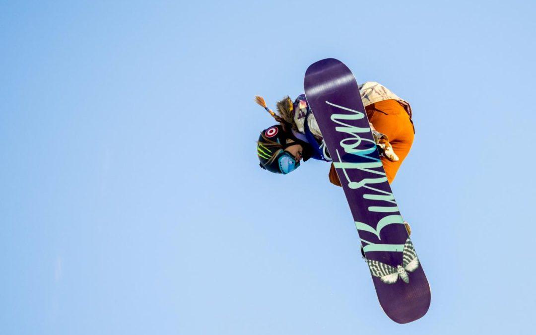Snowboarding: American Kim Enjoying the Spotlight
