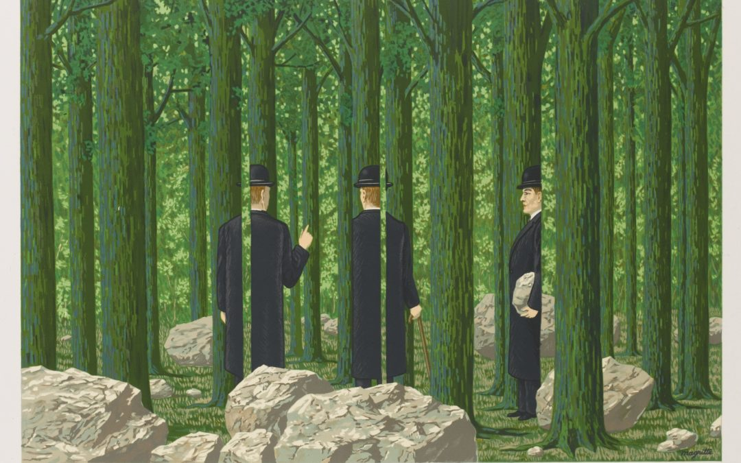 Sotheby's Displays Surrealist Magritte and Rare Works by Other Artists