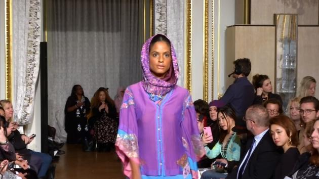 Covered on the Catwalk: Modest Fashion Struts Its Stuff in Paris
