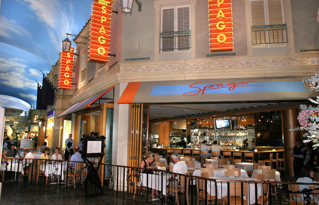 Wolfgang Puck's Spago on Las Vegas Strip to Serve Last Meal
