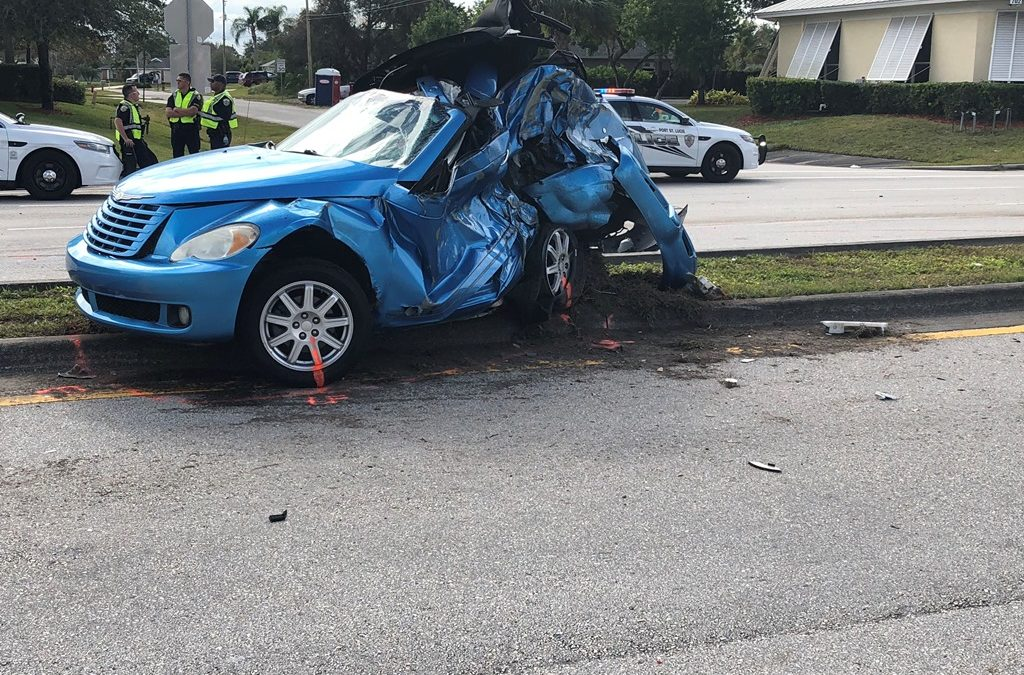 Port St Lucie Police Investigating Early Morning Fatal Traffic Crash in the 600 Block of Sw Port St. Lucie Blvd