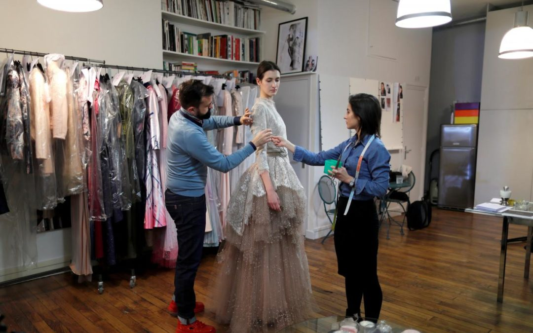 Craft and Tech Mingle at French Couture House Fournie