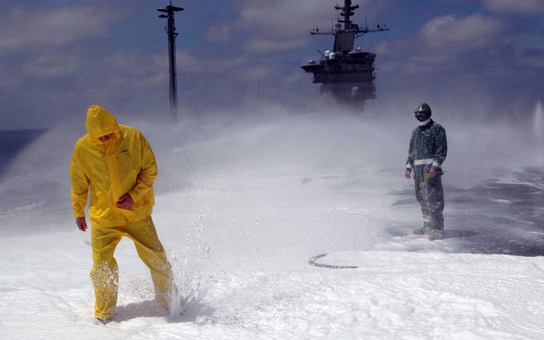 The U.S. Military is Spending Millions to Replace Toxic Firefighting Foam with Toxic Firefighting Foam