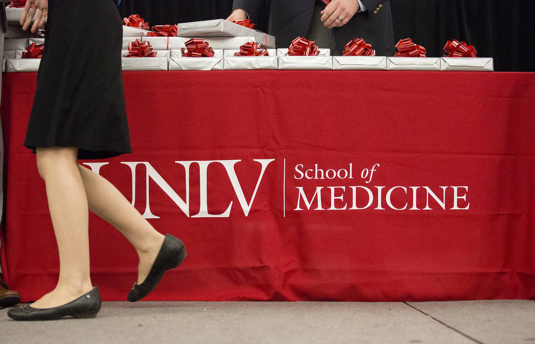 Unlv Sets Sights High for Medical School Facility