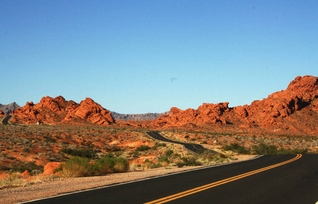 Valley of Fire State Park Both an Hour and a World Away