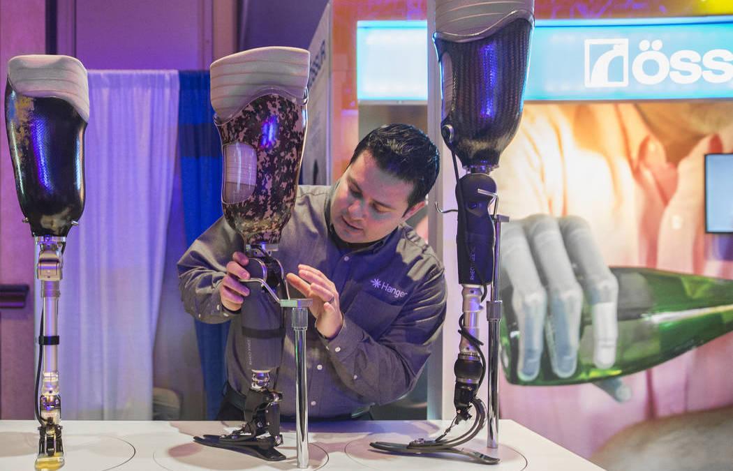 Health Fair Highlights Cutting-edge Prosthetics in Las Vegas